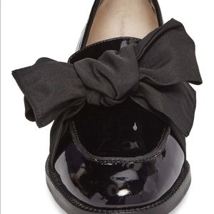 482b36ba4b7 Botkier Shoes - Bolkier Violet Bow Loafer black patent leather